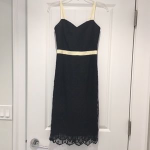 ⭐️ Milly Black Lace Sleeveless Dress